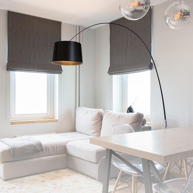 Квартира в спокойных тонах в новом доме на Кутузовском — Квартира недели на The Village