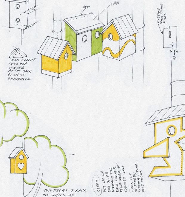 Идеи для города: Скворечники из мусора в Дании