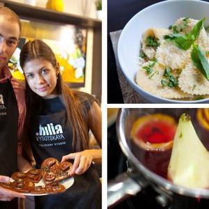 Время есть: Кулинарный мастер-класс в студии Юлии Высоцкой — Кухня на The Village
