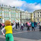 На Дворцовой площади будут проводить регулярные зарядки