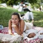 Родители с детьми на пикнике «Афиши»