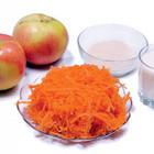 Морковно-яблочные оладьи :)