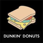 Составные части: «Роял флэт брэд» с индейкой из Dunkin' Donuts