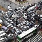 Москвичи создали новый народный сервис: пробки из окна