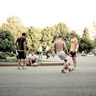 Открытие спортивного сезона в парке Горького