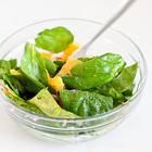 Салат из шпината и апельсинов