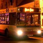 С июля запустят пять круглосуточных автобусных маршрутов