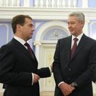 Медведев предложил Собянина на пост мэра Москвы