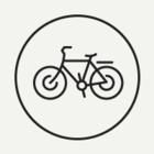 Сергей Собянин осматривает обновлённый московский велопрокат