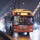 Фото дня: Первые ночные автобусы и троллейбусы в Москве