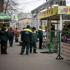 В Москве остановлен снос палаток и платежных терминалов