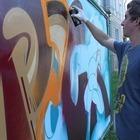 Художники провели акцию за легализацию граффити на стенах