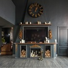 Двухуровневая квартира с элементами «цыганщины» и антикварной мебелью