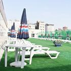 На крыше бассейна «Олимпийский» открылся пляж