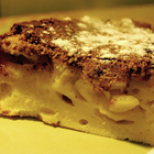 Сочный яблочный пирог