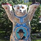 В Александровском саду выставили медведей United Buddy Bears