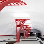 Метрополитен показал дизайн трех новых станций