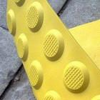 Желтая плитка на переходах отправляет незрячих под колеса