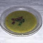 Суп из спаржи с грибами