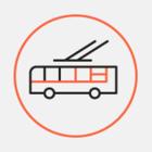В Петербурге запускают новогодние трамваи со световой иллюминацией