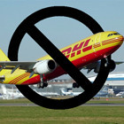 DHL приостанавливают доставку в Москву