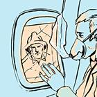 Почему при взлете и посадке должны быть открыты шторки?