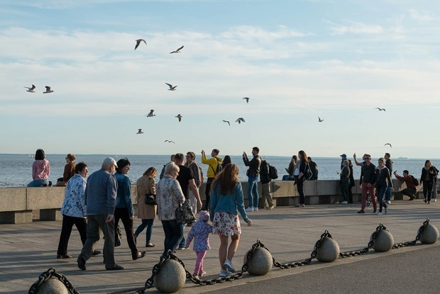 Петербург — город-курорт: Три променада с видом на море