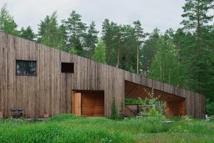 «Средневековый корабль»: Дом архитектора Сергея Мишина в Вырице