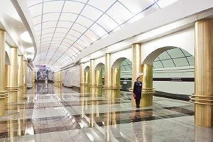 Фоторепортаж: Станции метро «Международная» и «Бухарестская» изнутри