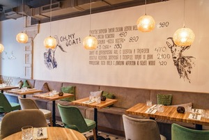 Коза рогатая: Ресторан Dereza на Нижней Красносельской