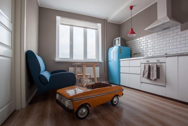 Уютная квартира с коллекцией советского дизайна (Петербург)