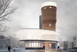 Как будет выглядеть культурный центр в водонапорной башне в Щербинке