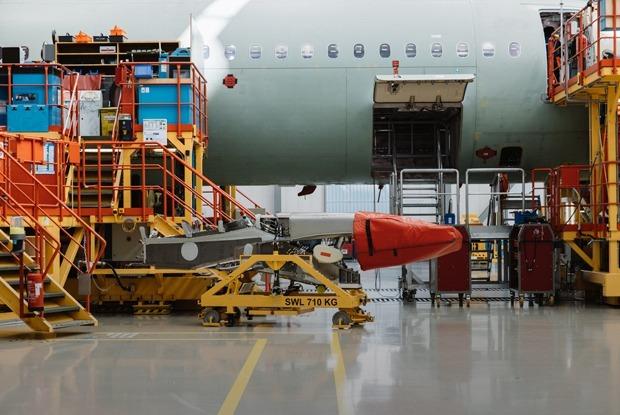 Как собирают самолеты