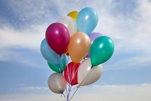 Отказаться от воздушных шаров на мероприятиях