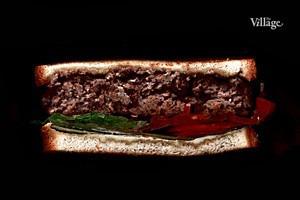 Составные части: Cэндвич с котлетой из говяжьего фарша из «Фермер Базара» в «Цветном»