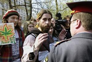 Как в Петербурге согласовали, а потом запретили «Конопляный марш»