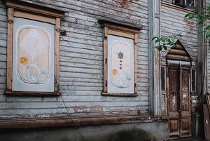 Маршрут по деревянной архитектуре и новому стрит-арту / Wooden Architecture and Street Art