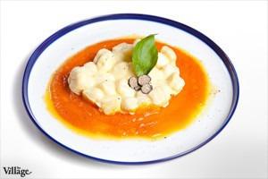 Рецепты шефов: Картофельные ньокки с пармезаном на креме из тыквы
