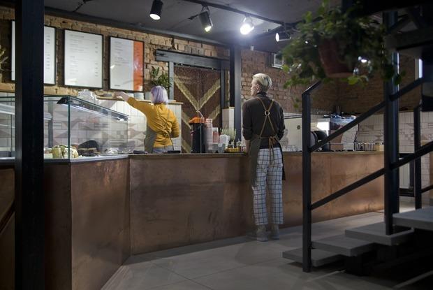 Кофейня «Бродский» у Дендрария на Первомайской