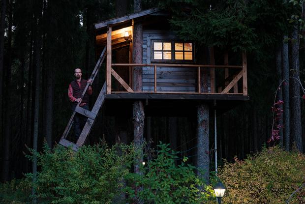 «Я строю домики на деревьях»