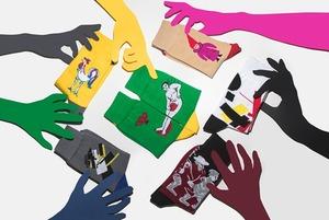 Авангардистские носки от екатеринбургского Музея ИЗО и St. Friday Socks