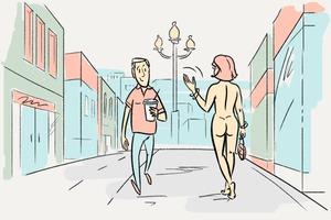 Можно ли ходить голым по городу?