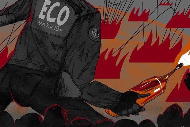 Зачем экотеррористы поджигают автомобили и воруют животных