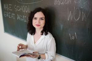 Ксения Меленчук: «Никто не просит делать цирк из урока»