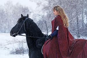 Верхом в -28: Где заняться конным спортом в Иркутске