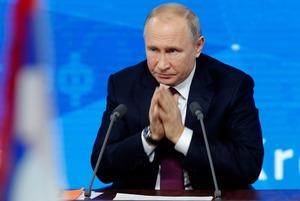 Рэп, война и желание править миром: О чем Путин говорил с журналистами
