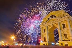 Как праздновали День Победы в Иркутске