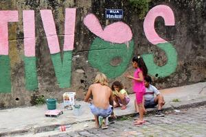Виджигал, трущобы в Рио-де-Жанейро
