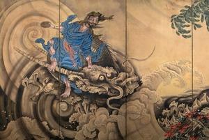 Японское искусство в Пушкинском: Герои эпохи Эдо