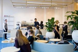 Новое место: Кофейня Duo с видом на сад Павлика Морозова